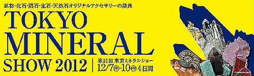 東京ミネラルショー2012