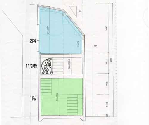 家の設計図1