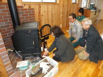 マキストーブの火入れ式|南阿蘇の自然と暮らす永久の住まい木の家