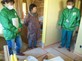 福島県相馬の木造りの家|オーナー様ファミリーとの打ち合わせ