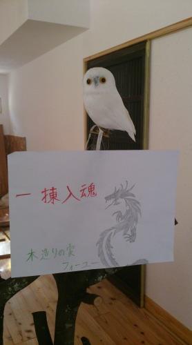 棟梁の息子君が書いた絵|大分県日田市・本社の事務所にて。