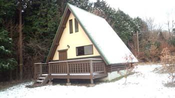 由布院の塚原高原の別荘です!