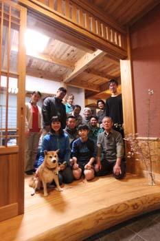 完成引渡し�|福島県相馬の木造りの家