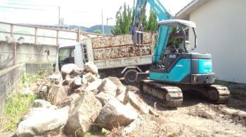 解体中|福岡県太宰府市の木造りの家