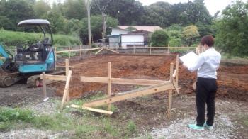 基礎工事|大分県別府市の木造りの家