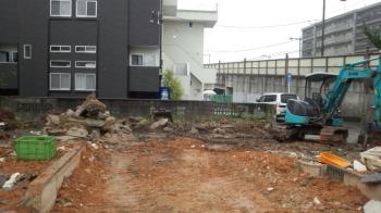 解体状況|福岡県太宰府市の木造りの家