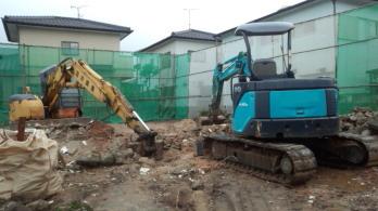 解体工事中!|福岡県太宰府市の木の家