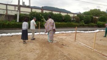 地鎮祭|福岡県太宰府市の木造りの家