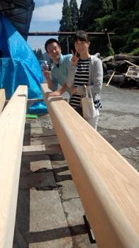 大黒柱選木|大分県別府市の木造りの家