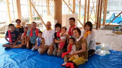 祝!上棟式|福岡県田川市の木造りの家