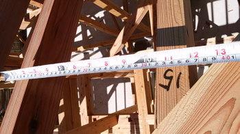 骨太の屋根タルキで強度アップ|福岡県太宰府市の木の家
