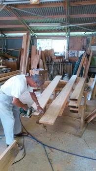 敷居材とカモイ材|福岡県太宰府市の木造りの家