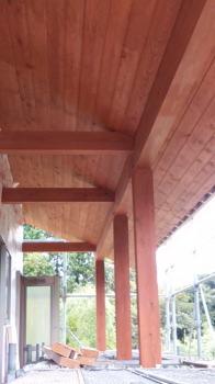 現場の様子|別府市の木造りの家