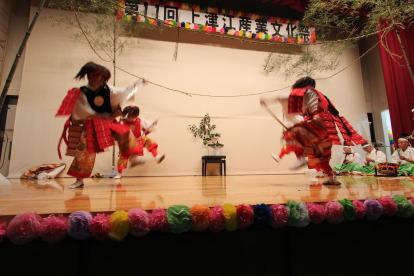 第11回上津江産業文化祭-豆生野神楽保存会-