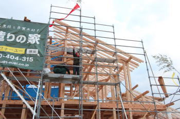 餅まき式|福岡県小郡市木造りの家