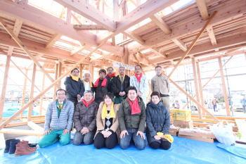 上棟式|福岡県小郡市の木造りの家