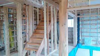 住まいの構造見学会!|ランドリースペースのある快適な住まい