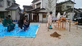 地鎮祭|大容量収納と回遊性のある 間取りで快適な住まい