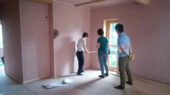手造り家具の打ち合わせ|大分県杵築市の木造りの家