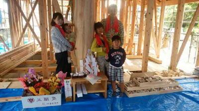 祝!上棟式!|大分県日出町木造りの家