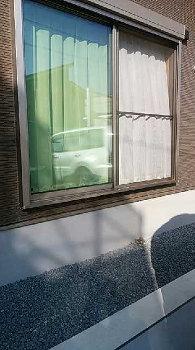 外部階段|家事らく動線とサンルームのある住まい-大分県日田市-