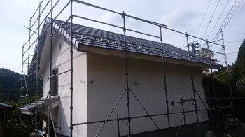 屋根瓦の改修工事!|大分県日田市のリフォーム工事
