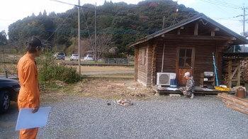 基礎工事打合せ|福岡県朝倉市の店舗増築工事
