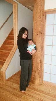 こんにちは赤ちゃん!|ランドリースペースのある快適な住まい-福岡県小郡市-