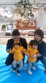 祝!地鎮祭 !|地形を考慮した2階リビングの住まい -福岡市城南区-