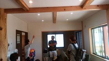 お客様ご案内!|丈夫で長持ち! 孫の代まで住み継ぐ大屋根の家-福岡県筑紫野市-