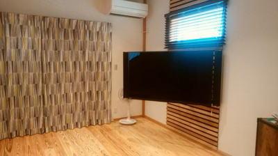 大型テレビ|福岡県小郡市の木造りの家