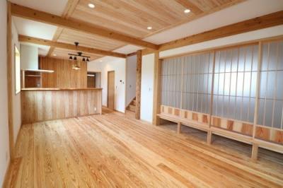 見学会|福岡県小郡市の木造りの家
