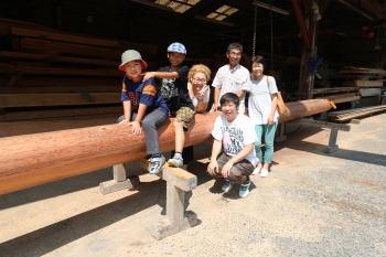 大黒柱選木|福岡県太宰府市の木造りの家