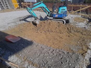 地盤調査|玄関・浴室を共有 限られた敷地に実現した二世帯住宅-福岡県太宰府市-