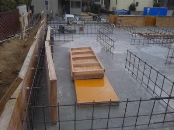 配筋検査|玄関・浴室を共有 限られた敷地に実現した二世帯住宅-福岡県太宰府市-