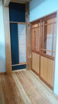 大黒柱と半月窓|地震・台風に強い! 命と健康を守る頑強な家-熊本市東区-