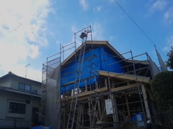 屋根工事|玄関・浴室を共有 限られた敷地に実現した二世帯住宅-福岡県太宰府市-