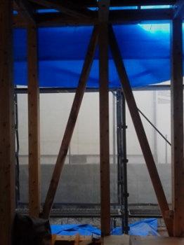 屋根工事&木工事|玄関・浴室を共有 限られた敷地に実現した二世帯住宅-福岡県太宰府市-