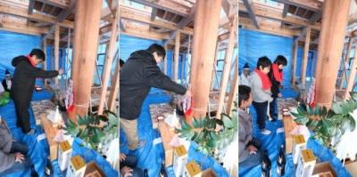 祝!上棟式|福岡県太宰府市の木造りの家