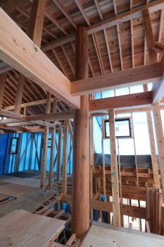 骨太構造体|福岡県太宰府市の木造りの家