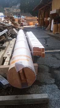 建て方前準備|最高ランク耐震等級3!安心で広々大空間の住まい-福岡県久留米市-