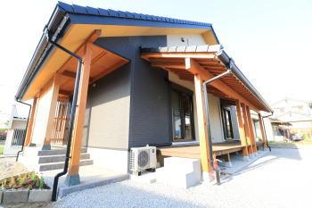 完成見学会|熊本市東区の木造りの家
