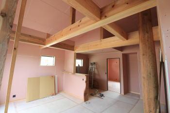 現場の様子|福岡県太宰府市の木造りの家