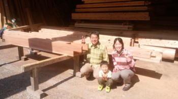 会社来訪|大分県日田市の木造りの家