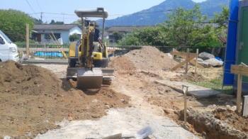 基礎工事|福岡県粕屋郡の木造りの家