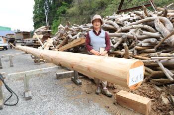 大黒柱選木|福岡県粕屋郡の木造りの家