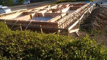 基礎工事!|〜ふるさとへ帰る〜大自然と共に暮らす 薪ストーブのある住まい-大分県日田市-