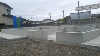基礎工事|こんな家に住みたい!夢をかなえた本物の自然素材の家-福岡県糟屋郡-