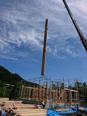 大黒柱|大分県日田市の木造りの家
