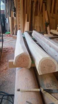 建て方に向けて|大分県日田市の木造りの家